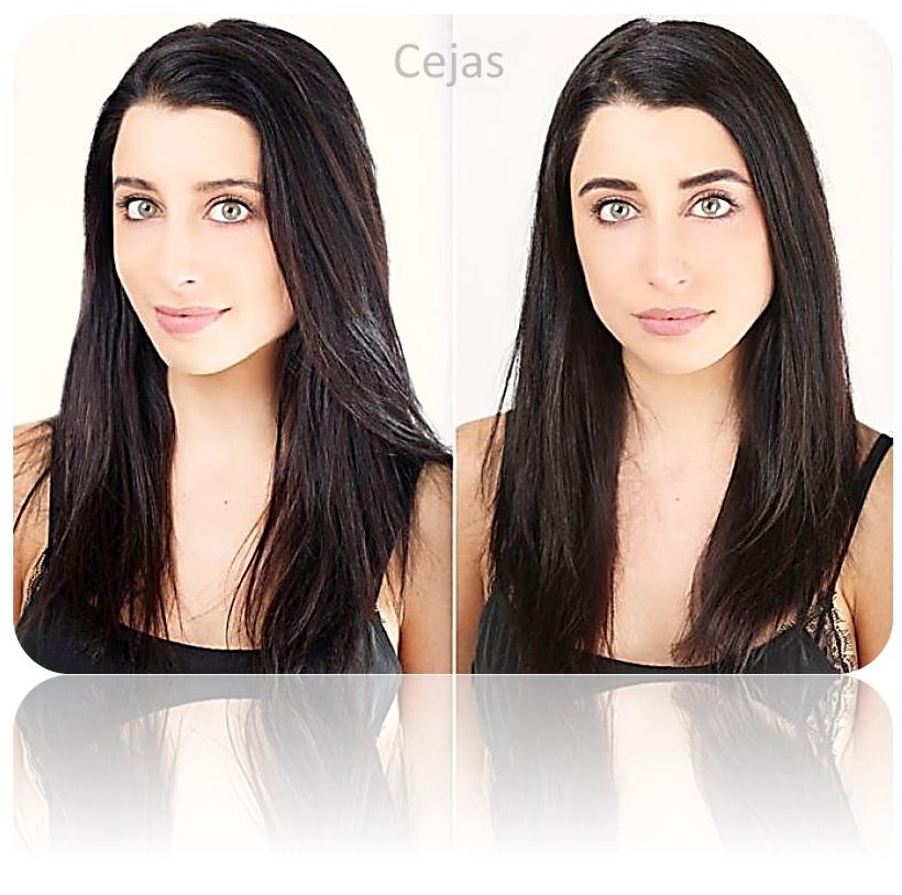 Kit tinte pestañas y cejas activador tintura negro cabello ainybel dermik