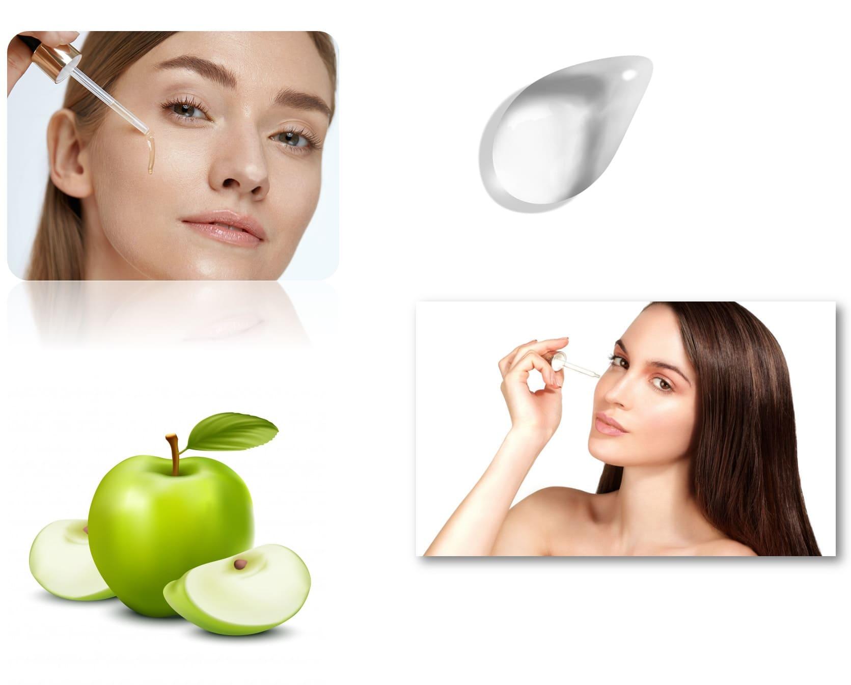 Serum tensor facial efecto lifting inmediato antiarrugas reafirmante rostro