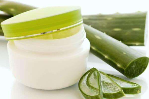 Cremas con gel aloe vera beneficios piel rostro información propiedades