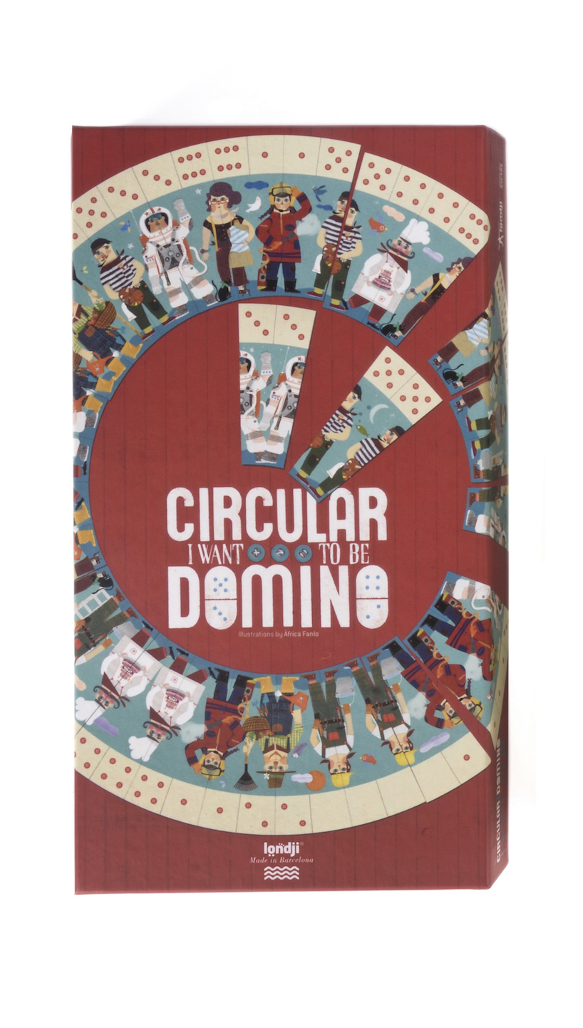 Dominó Circular I Want to Be