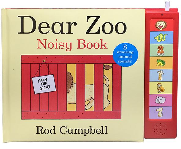 Dear Zoo - Libro con sonidos
