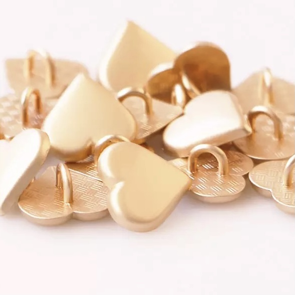 Botones GOLDEN HART