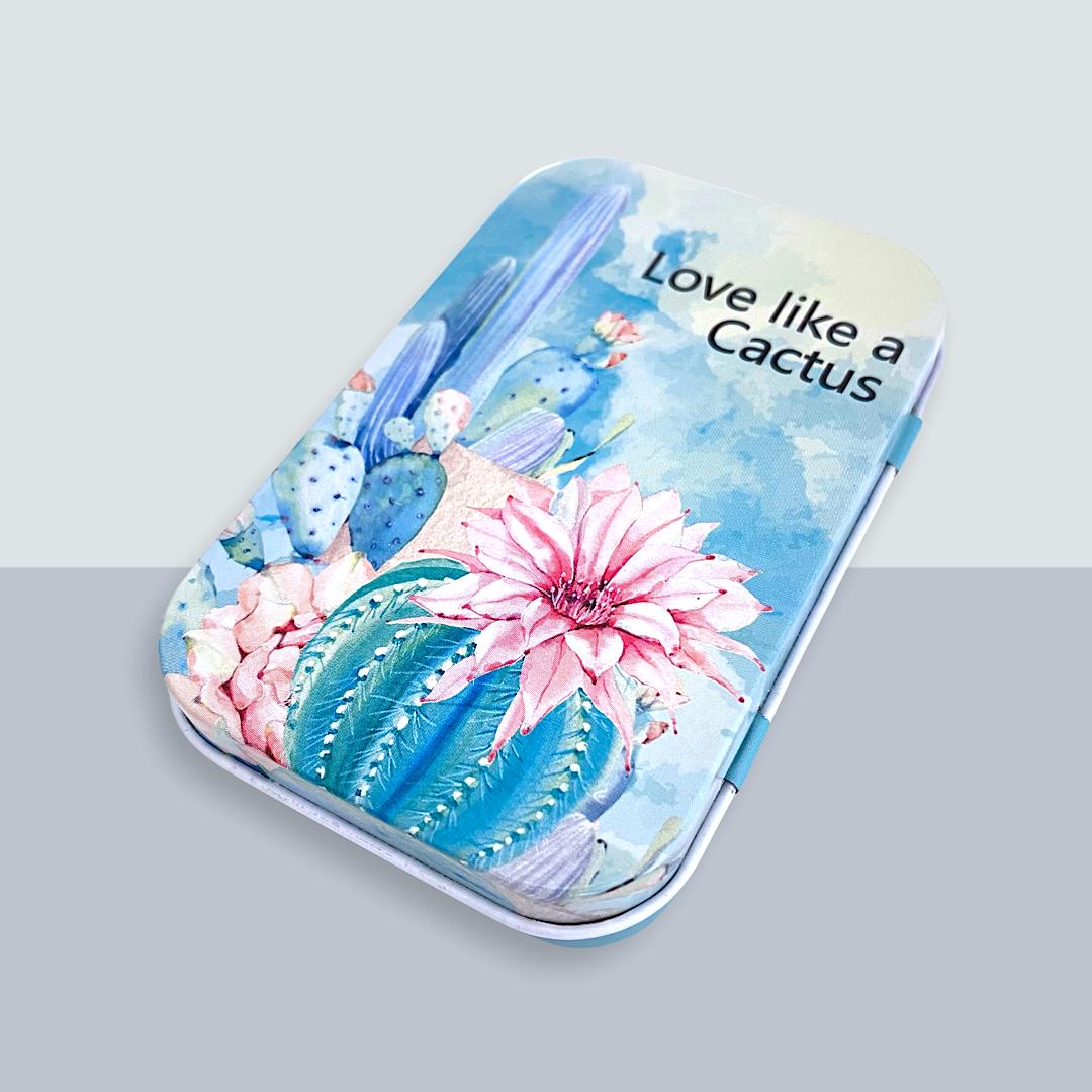 Caja Metálica - Colección Cactus