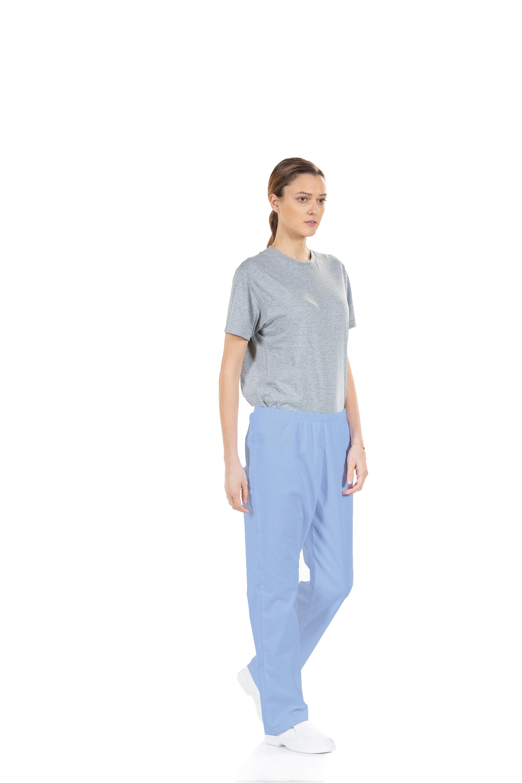 Calça Azul de Saúde Unissexo