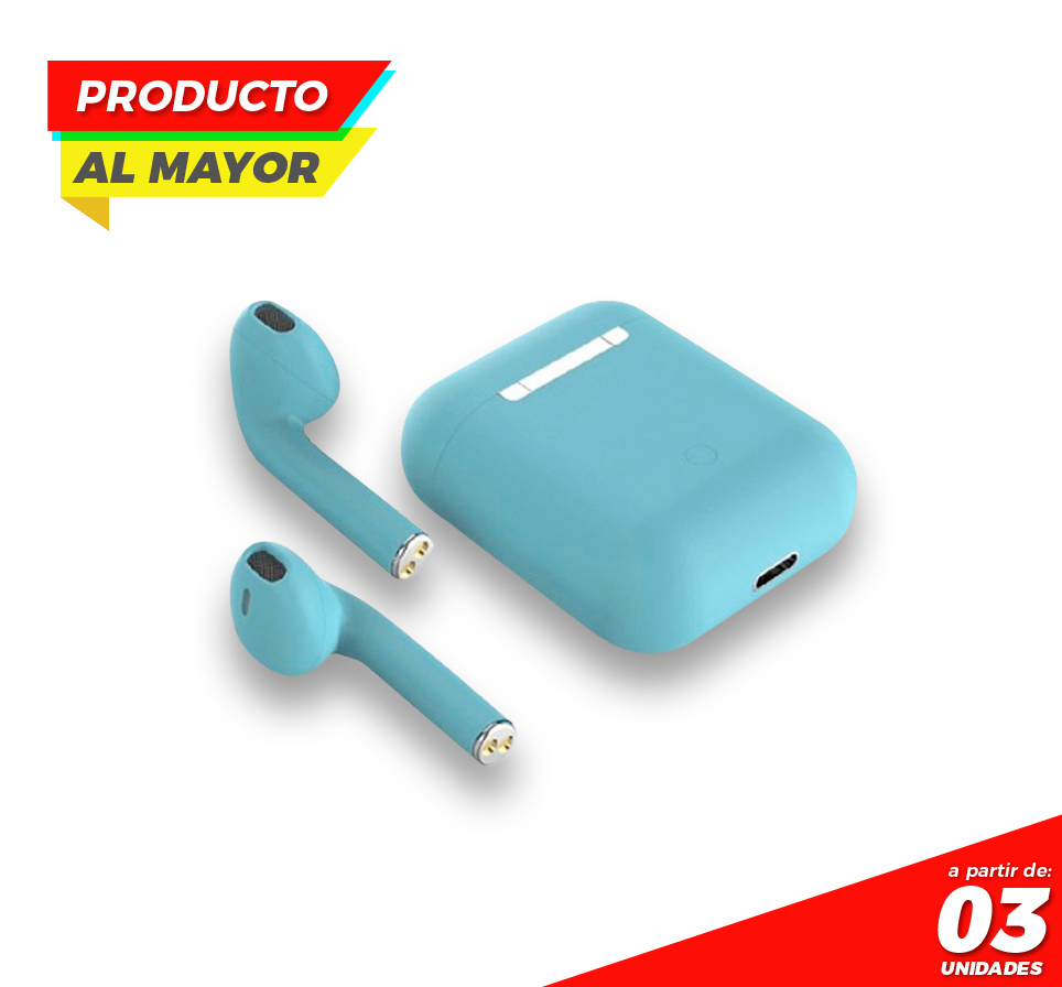 Audifonos Inpods 12 TWS TOUCH-Azul