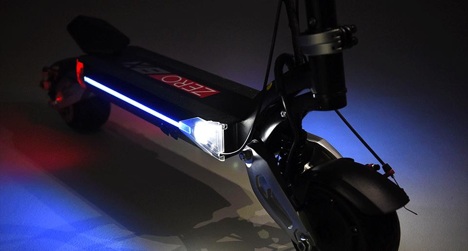 Scooter Zero 8X (Batería LG 52V 18Ah con frenos Hidráulicos)