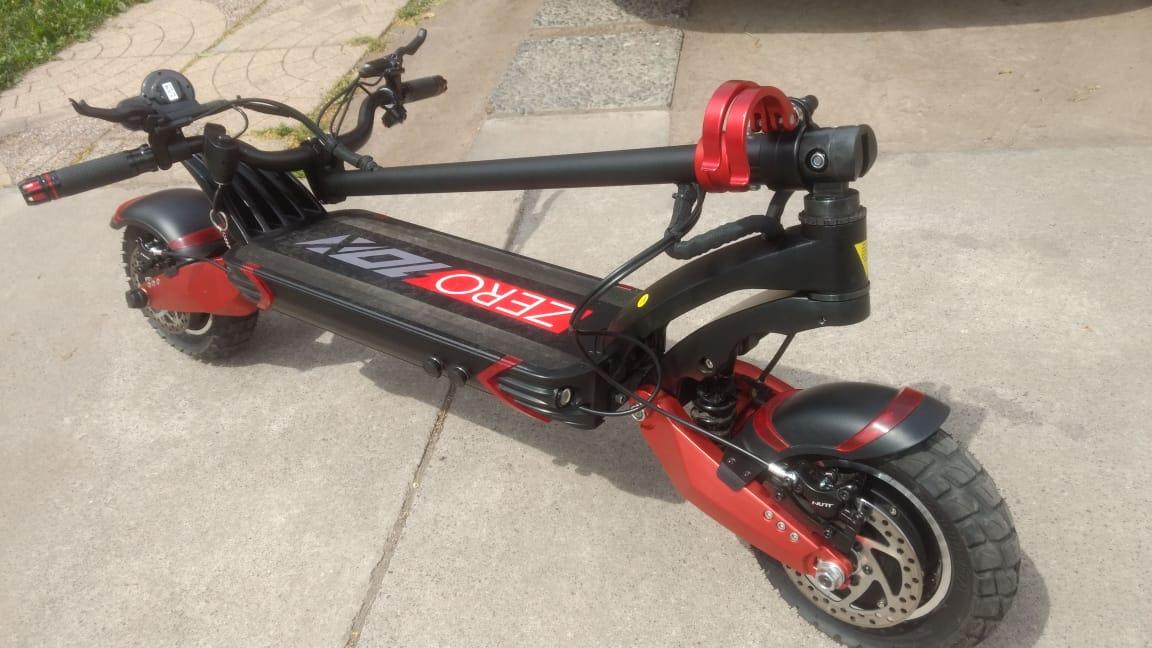 Scooter Zero 10X (Batería LG 60V 21Ah con frenos hidráulicos)
