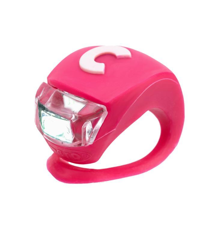 Scooter / Luz delantera rosada