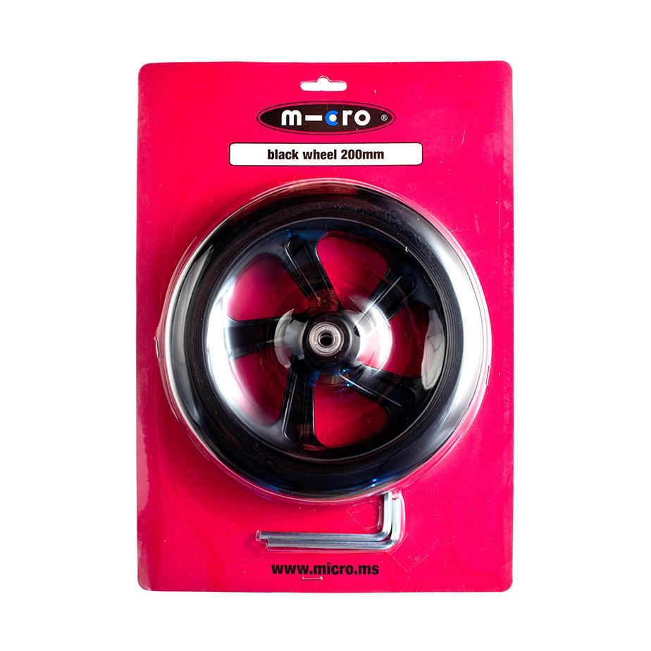 AC5010B Repuesto / Rueda Negra 200mm