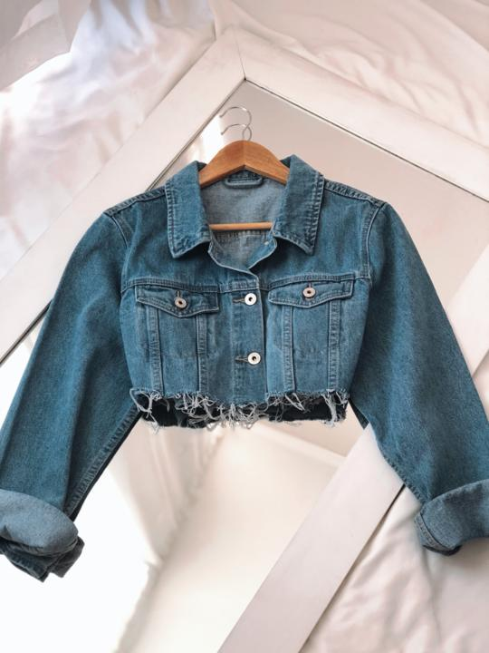 MINI DENIM CELESTE