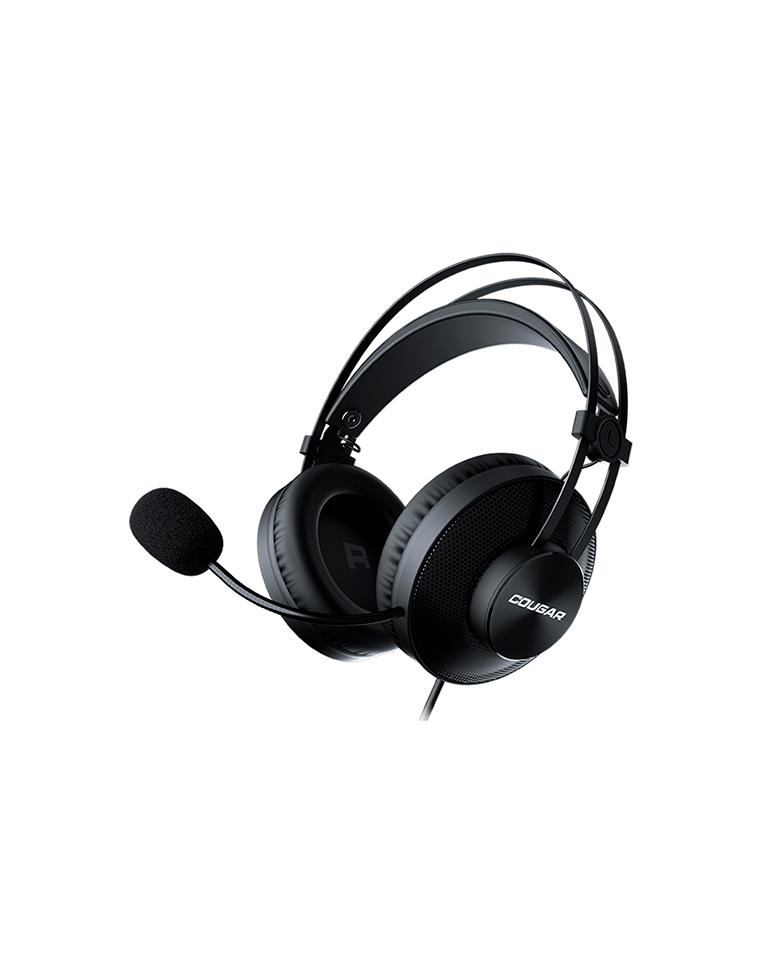 Audifonos  Gamer Cougar Immersa Essential Black