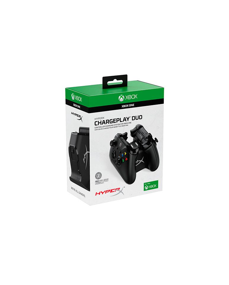 Cargador Control Xbox One Duo Hyperx HX-CPDUX-C [CAJA DAÑADA]