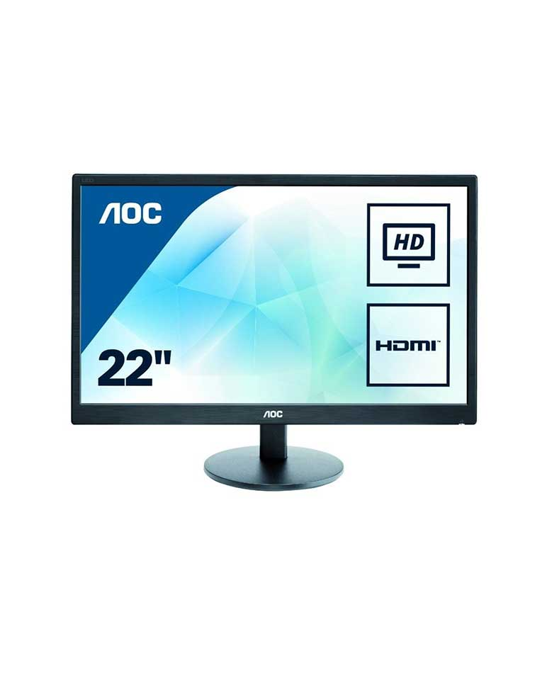 Monitor 21,5  Full Hd  E2270swhn - Aoc