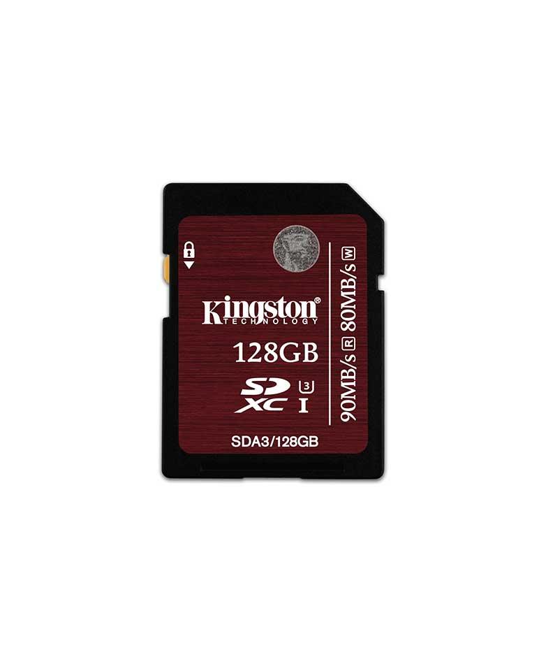Tarjeta Sd Uhs-i U3 Sda3/128gb - Kingston