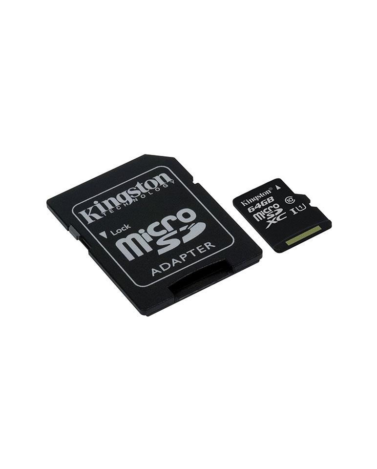 Memoria Microsdxc 64gb Clase 10 + Sd Adapter - Sdc10g2/64gb