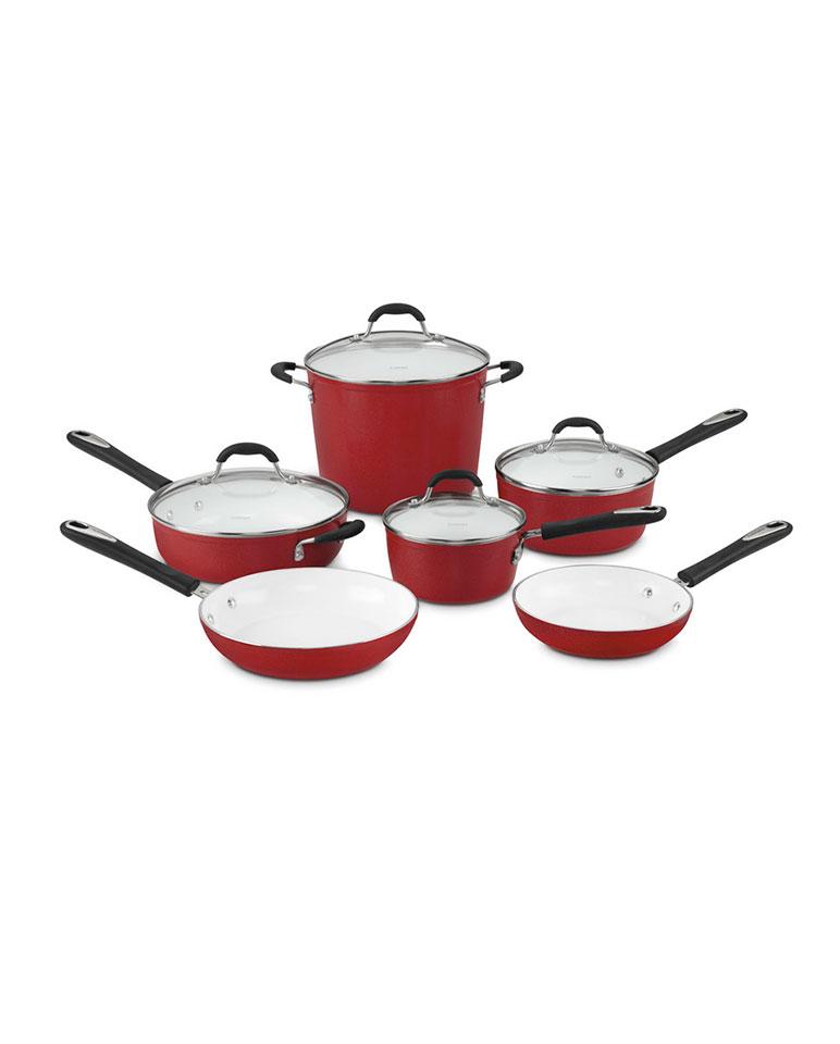 Batería De Cocina De 10 Piezas 59-10r - Cuisinart