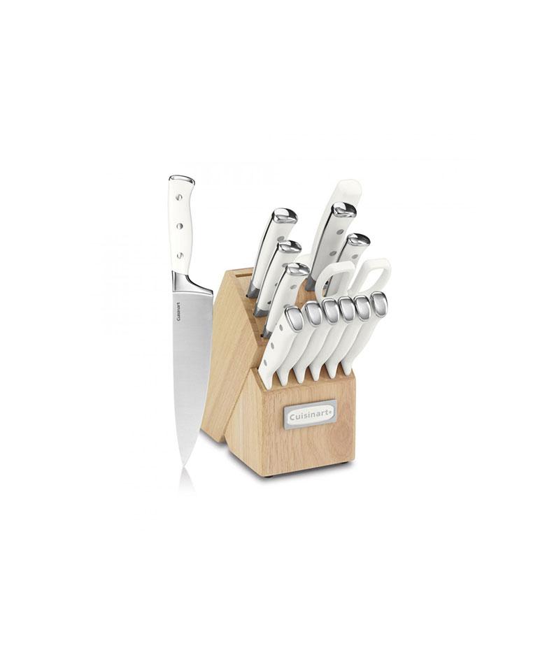 Set De Cuchillos Blanco 15 Piezas C77wtr-15p - Cuisinart