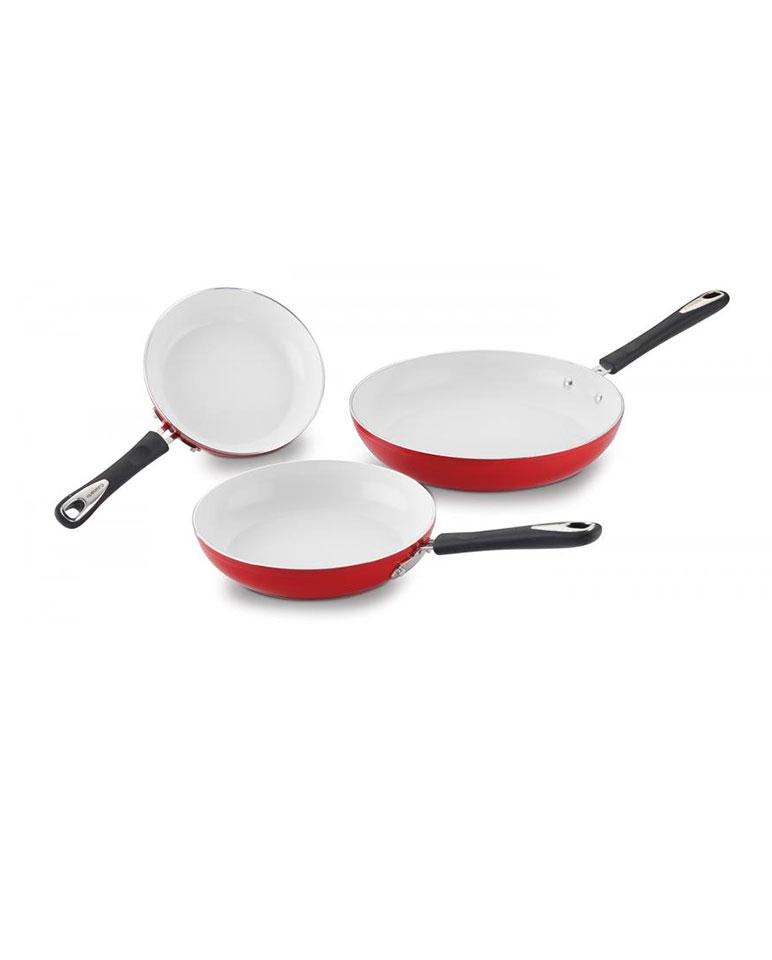 Set De 3 Sartenes Cerámica 5922-81012r - Cuisinart