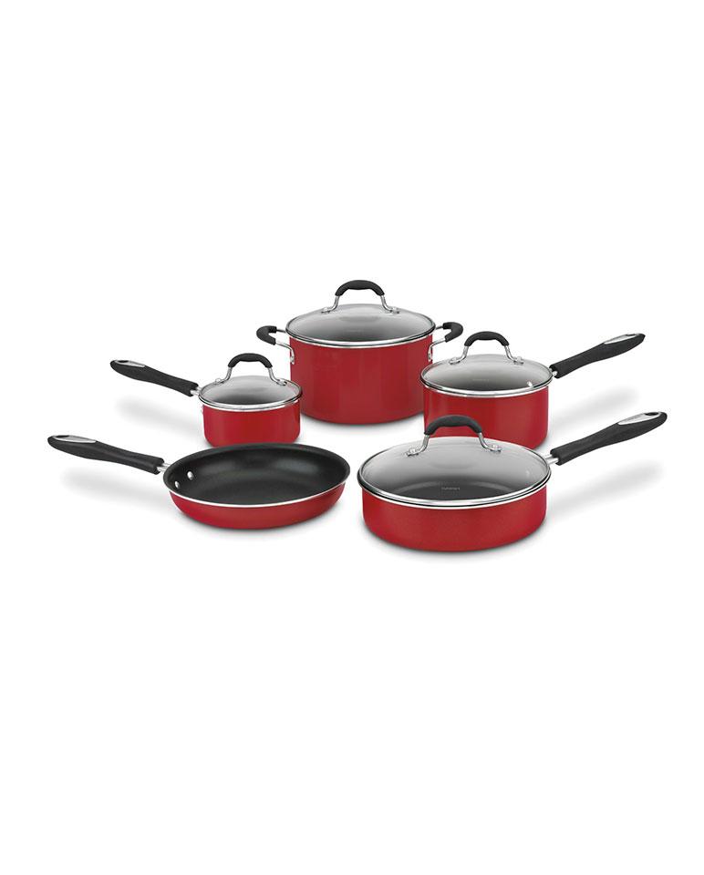Batería De Cocina 55-9r De 9 Piezas - Cuisinart
