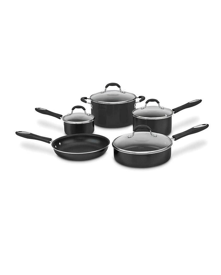 Batería De Cocina 55-9bk De 9 Piezas - Cuisinart
