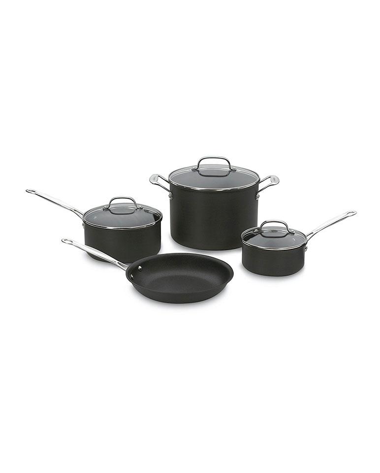 Batería Anodizado 7 Piezas 66-7 - Cuisinart