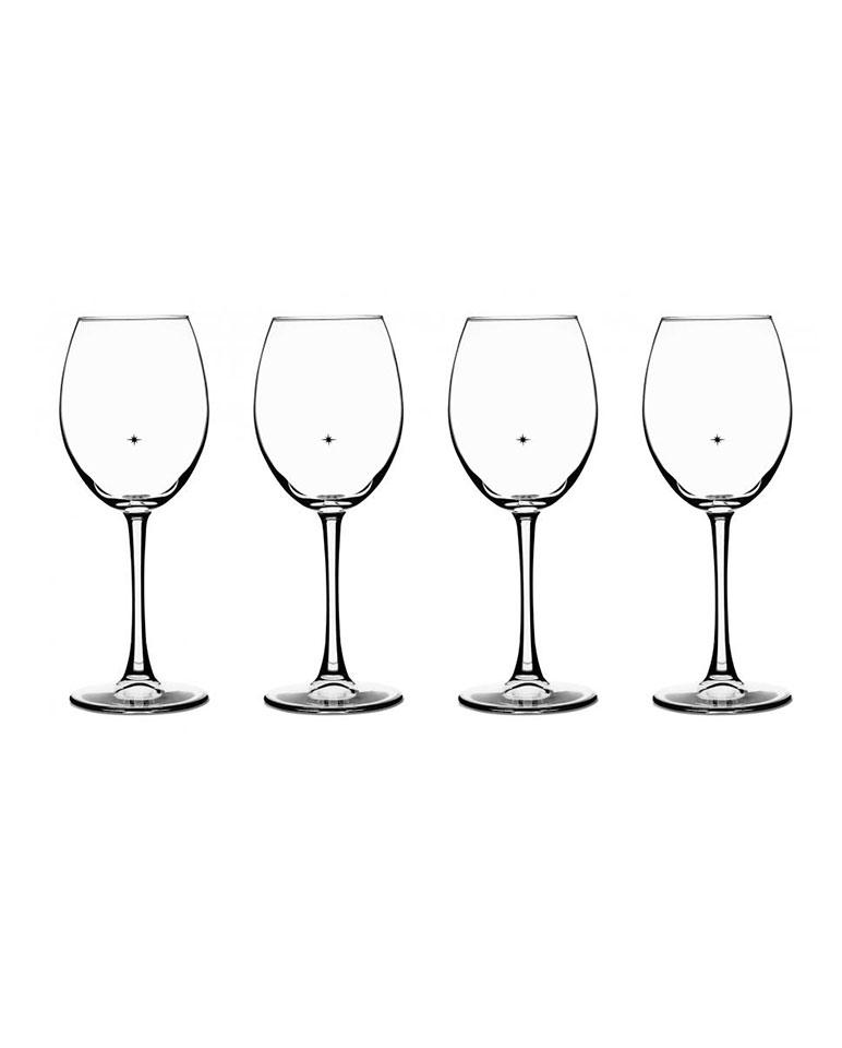 Set De Copas De Vinos 4 Piezas Cg-01-s4ap - Cuisinart