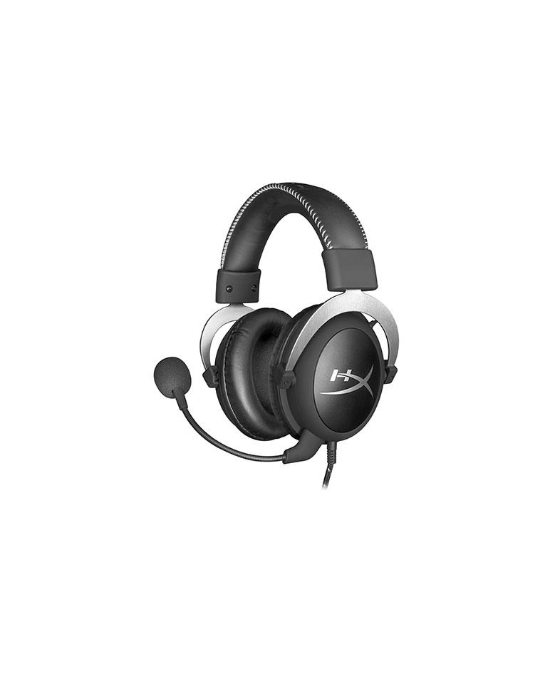 Audífonos Gamer Cloud Pro Silver HX-HSCL-SR/NA - HyperX (CAJA DAÑADA)