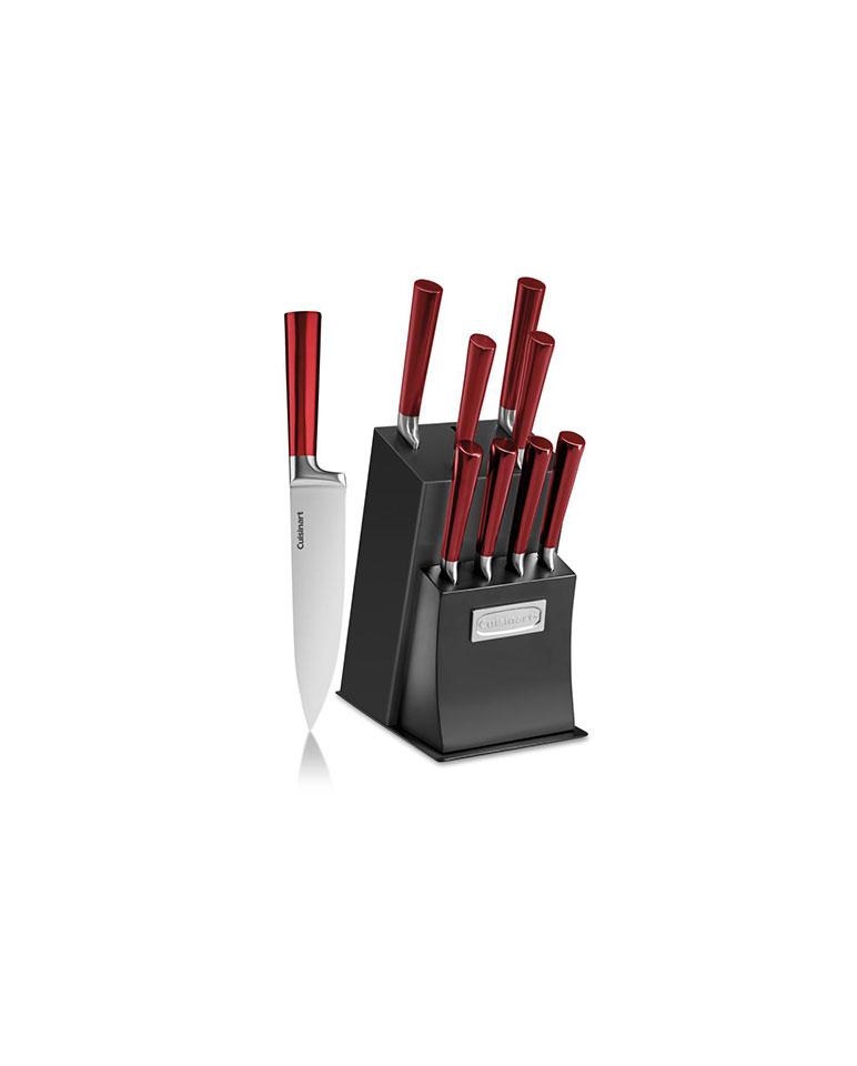 Set De Cuchillos 11 Piezas C77rb-11p - Cuisinart (BASE DAÑADA)