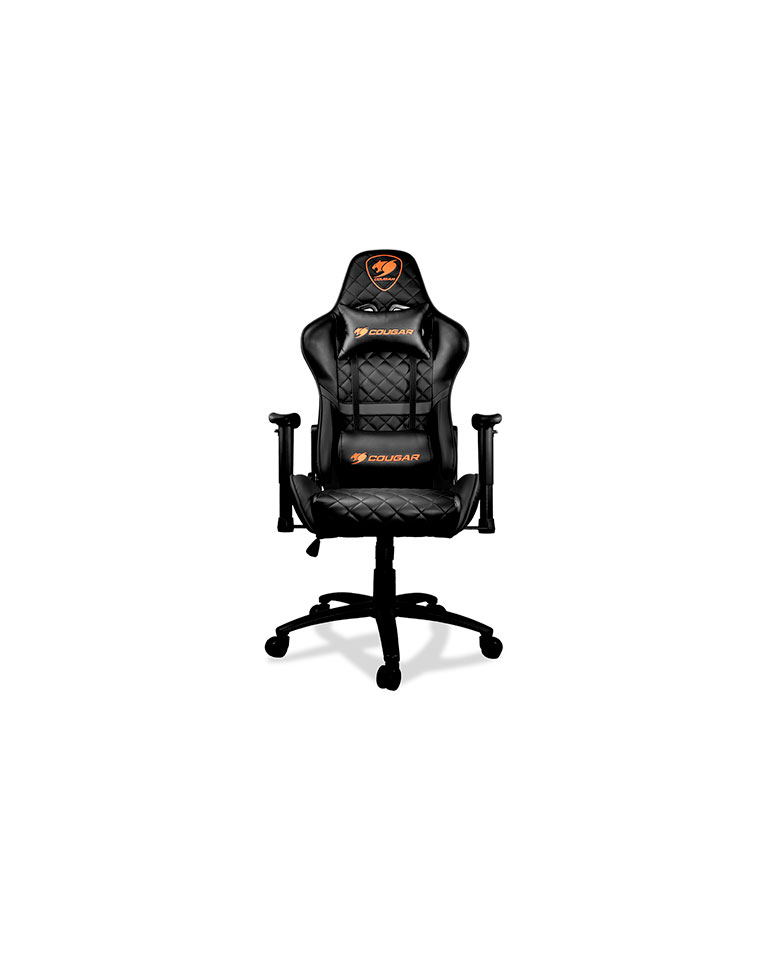 Silla profesional Gamer armor One Black - Cougar