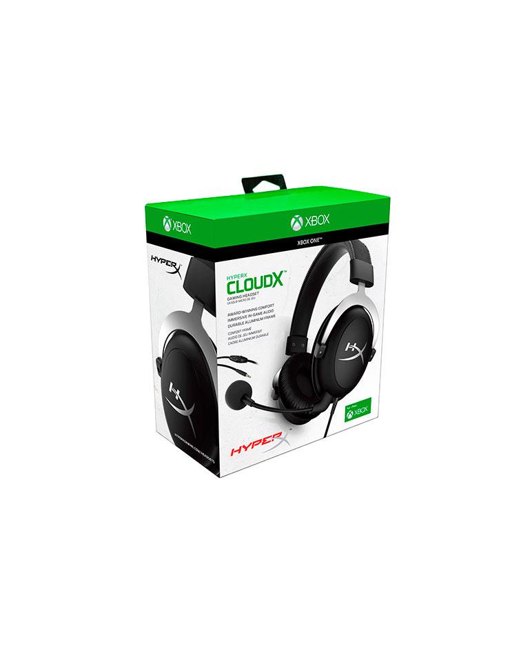 Audífonos Gamer HyperX CloudX para Xbox HX-HS5CX-SR