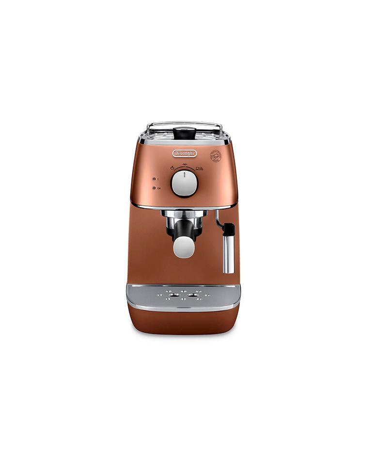 Cafetera Espresso De'Longhi Distinta Cobre mod ECI341.CP