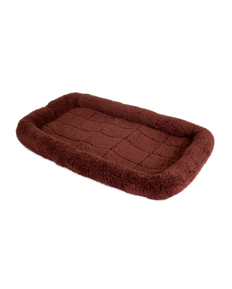 Cama mascota Snoozy grande color chocolate