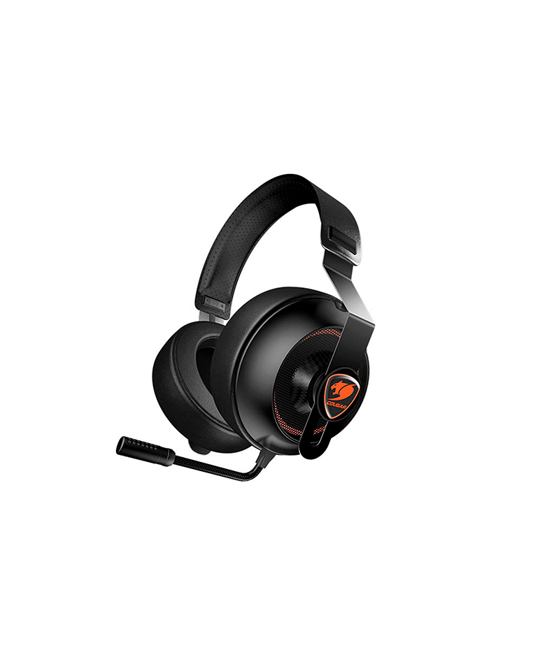 Audífonos Gamer Cougar Phontum Essential Black