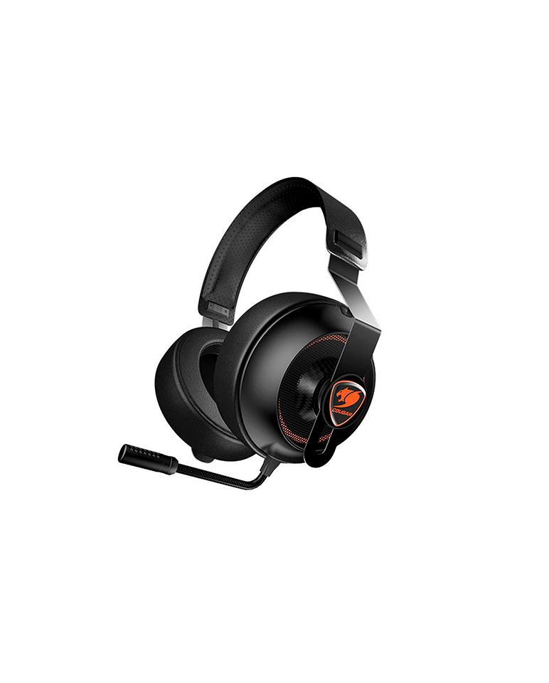 Audífonos Gamer Cougar Phontum Essential Black