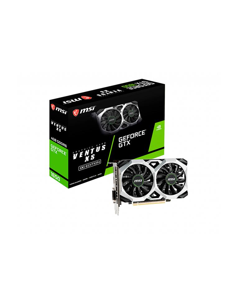 Tarjeta De Video MSI Geforce Gtx 1650 D6 Ventus Xs Oc 4gb