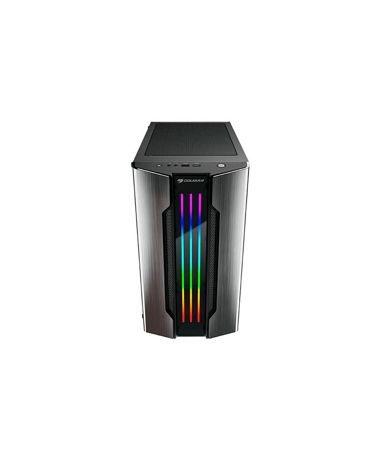 Gabinete Gamer Cougar Gemini M IRON GRAY RGB