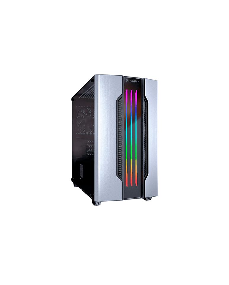 Gabinete Gamer Cougar Gemini M SILVER RGB
