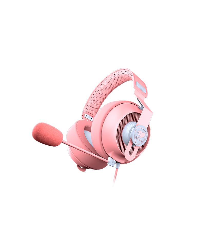 Audifonos  Gamer Cougar Phontum S Pink