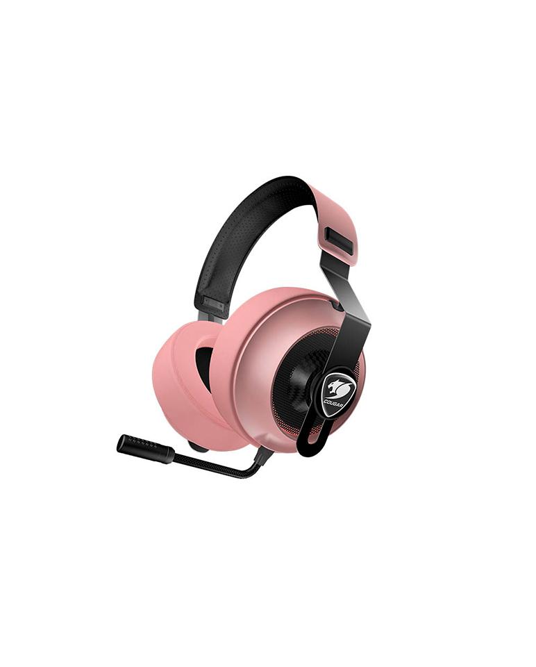 Audífonos Gamer Cougar Phontum Essential Pink
