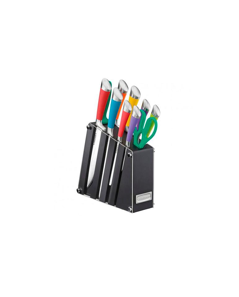 Taco cuchillos Cuisinart Colores 11 pzs C77SS-11PA