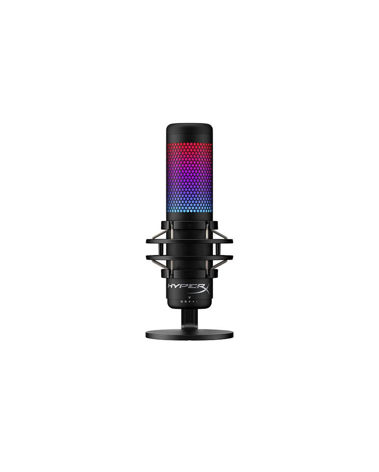 Micrófono Condensador HyperX Quadcast S RGB HMIQ1S-XX-RG/G