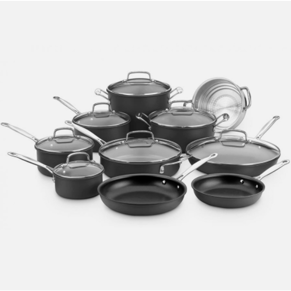 Batería de cocina Anodizado 17 Piezas Cuisinart 66-17N