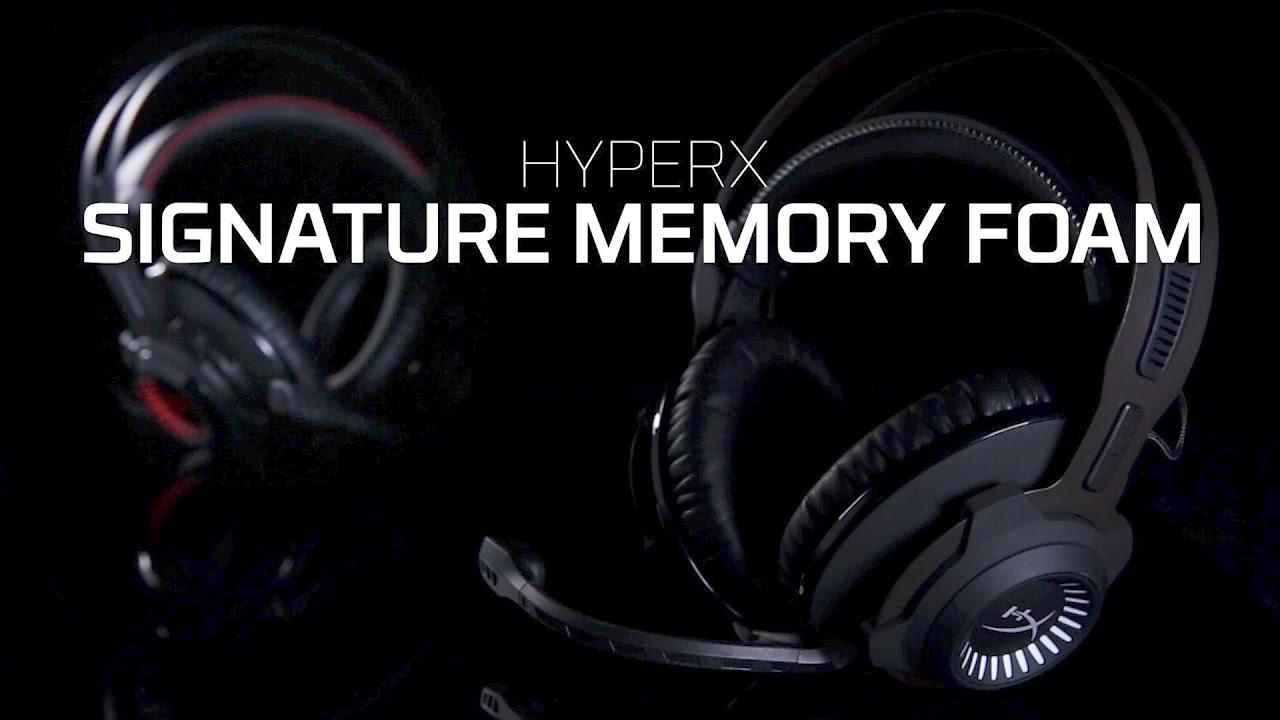 Memory Foam de HyperX: Todo el confort de Cloud Revolver S y Stinger