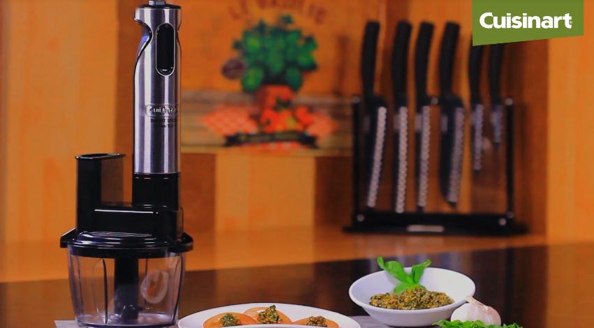 Prepara un espectacular pesto con la Multimixel de Cuisinart