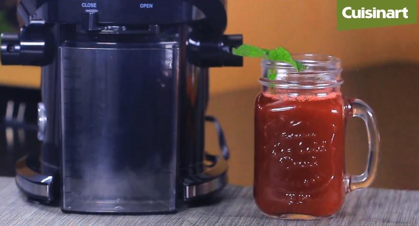 Limpia y cuida tu organismo con un jugo detox de la CJE500E de Cuisinart