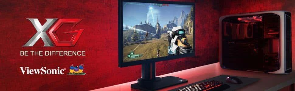 Conviertete en un Gamer Profesional con el monitor  XG2402 de Viewsonic