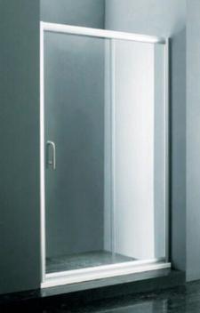 Mampara Ducha De 120-140 X 190 Cm Vidrio Templado