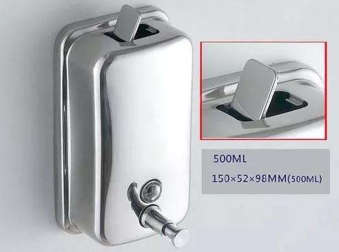 Dispensador de Jabon Metalico 500 ml