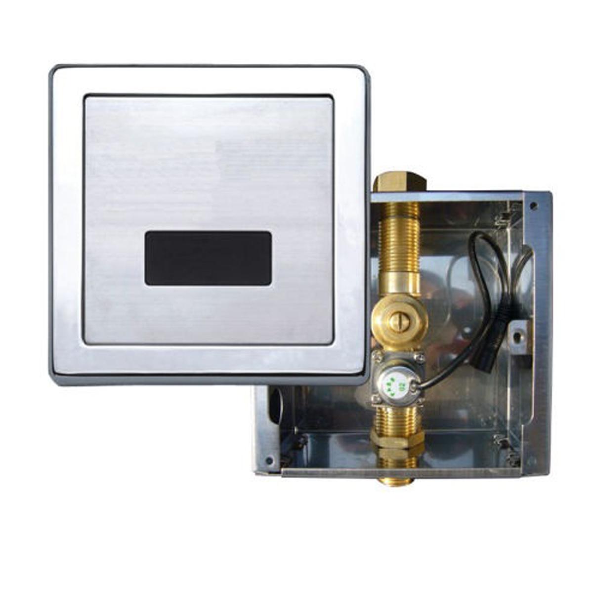 Válvula Electrónica al Muro Descarga en WC Con Sensor Superior