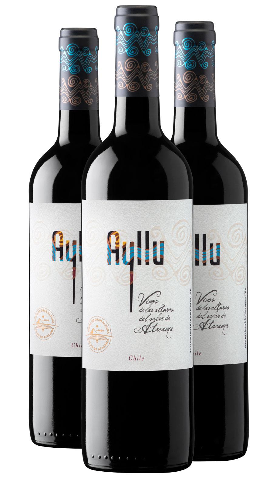 Ayllu Red wines 2019 (5 bottle box)